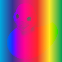 example of saturation blending